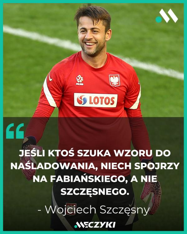 Wojciech Szczęsny o Łukaszu Fabiańskim