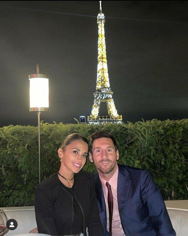 Jedyne co Messi zrobił po transferze do PSG, to kolacja pod Wieżą Eiffla